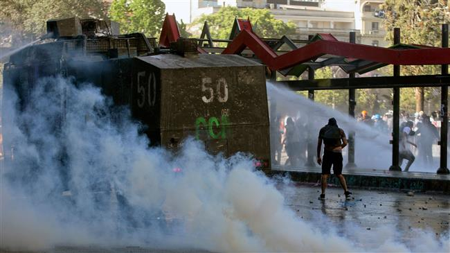 Chile forces 'intentionally' attacked protesters: Amnesty