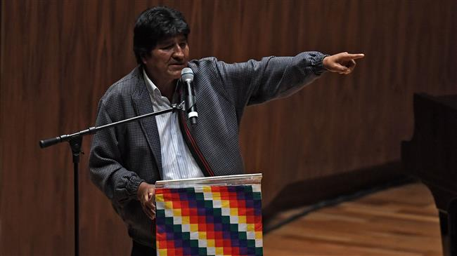 Bolivia's exiled Morales says US opposes his return