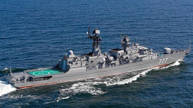 La flotte de guerre russe en Iran