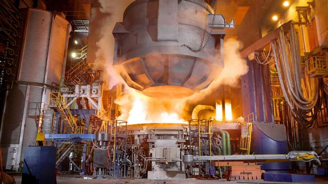 Iran says steel industry growing as US turns up sanctions heat