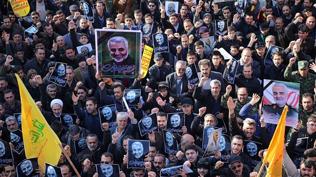In Pictures: Iranians mourn General Soleimani's martyrdom