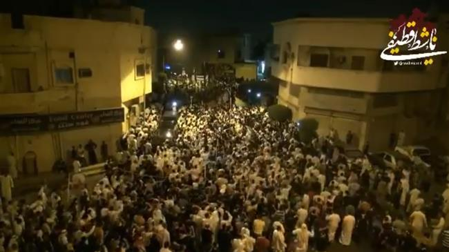 Thousands turn up for funeral of young Saudi dissidents in Qatif