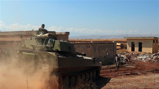 Syrian troops retake more militant-held towns in Idlib