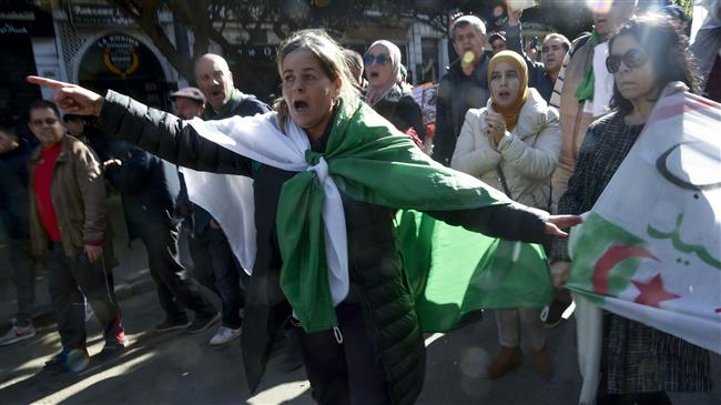 Algeria anti-government protesters back on street for 50th consecutive week