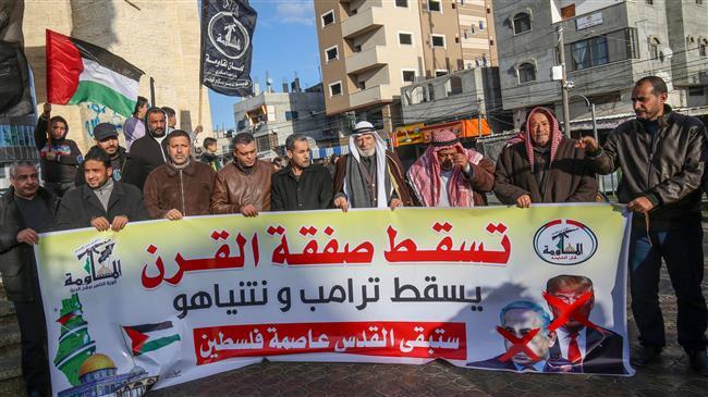 Trump Mideast plan violates UN resolutions: Russia