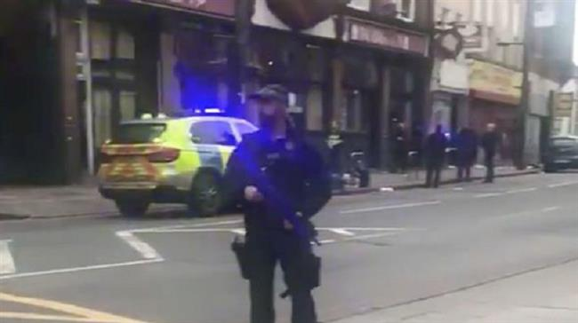 Terrorist incident reported in south London