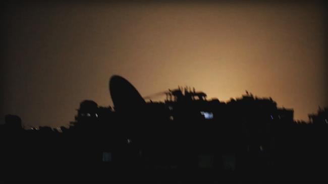 Syria intercepts hostile targets over Damascus: Report