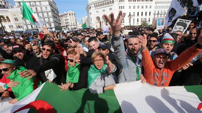 Algerians mark first anniversary of anti-regime protests