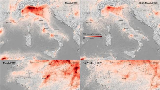Air pollution plunges in European cities amid coronavirus lockdown: Satellite data