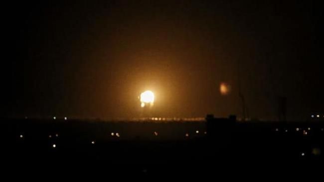 Israeli warplanes bomb besieged Gaza Strip