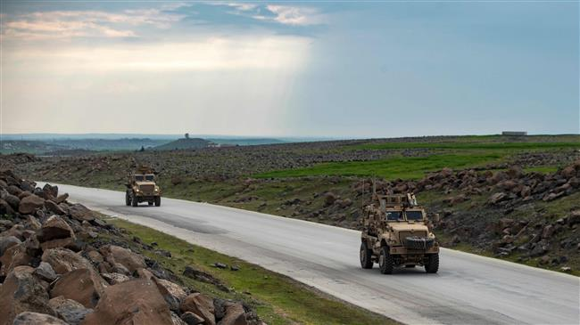'US military dispatches 35 trucks to oil-rich eastern Syria'