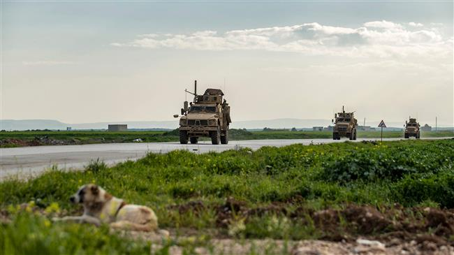 Syrian army, civilians block US military convoy in Hasaka