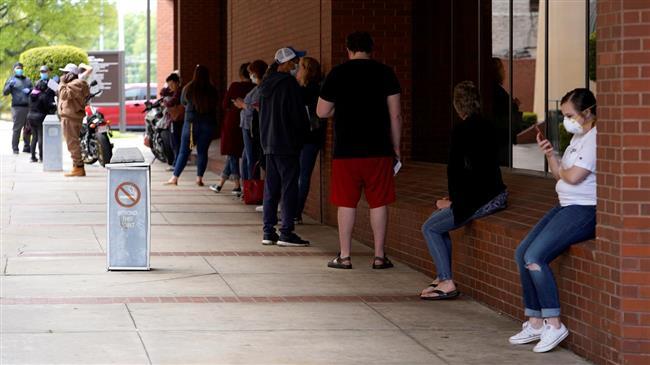 20 million Americans seek unemployment benefits