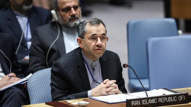 Iran: US seeks to hide 'economic terrorism' with arms embargo call