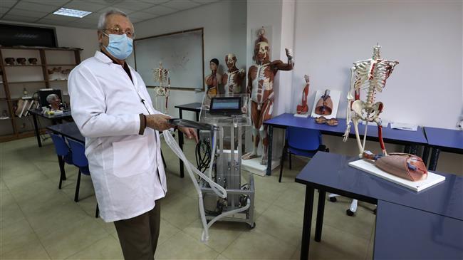 Despite occupation-related adversity, Palestinian engineers build medical ventilator