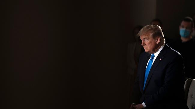Trump rattles sabers as US struggles with coronavirus pandemic
