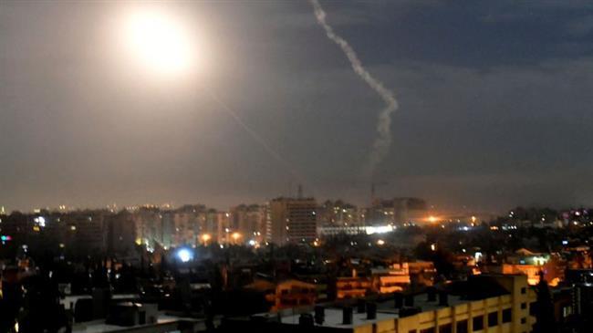 Syria's air defenses intercept invading drones