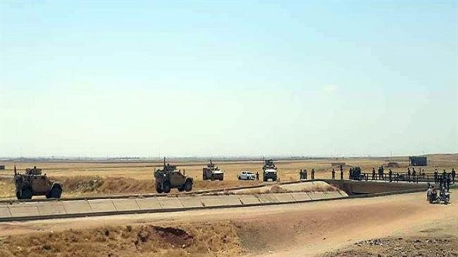 Syrian govt. forces block US military convoy in Hasakah