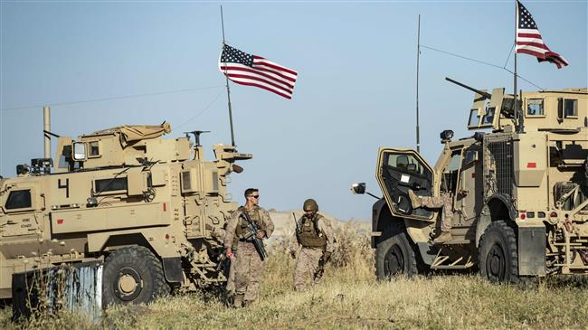 US forces send dozens of military vehicles to northeastern Syria