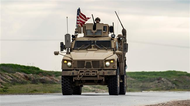 US convoy forced to move back by Syrian army in Hasakah