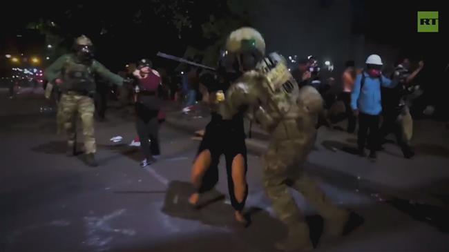 US protests continue unabated despite crackdown