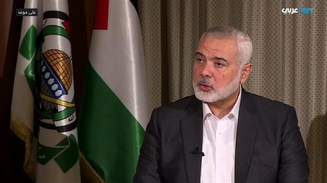 Israel deal 'treacherous stab in the back of Palestinians': Haniyeh