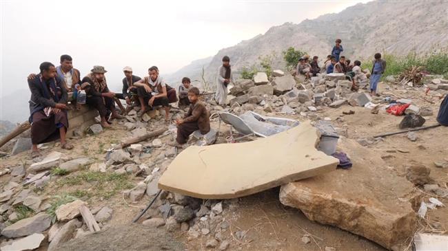 Yemen war: Journos gather 'war crime' evidence at scene of Saudi-led airstrike