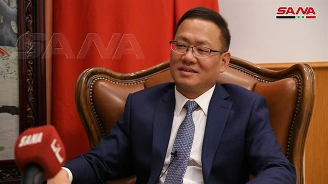 China's envoy calls Syria important partner, hopes for 'stronger ties'