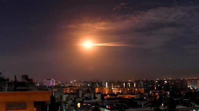 Syria intercepts Israeli aggression over Damascus