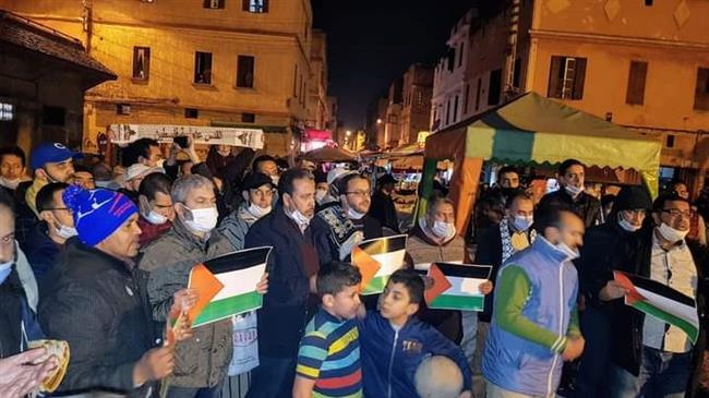 Moroccans protest against normalization agreement with Israel