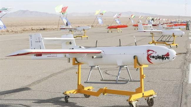 Des centaines de drones attaquent!