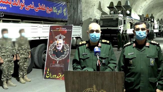 IRGC unveils underground missile city on Persian Gulf shores