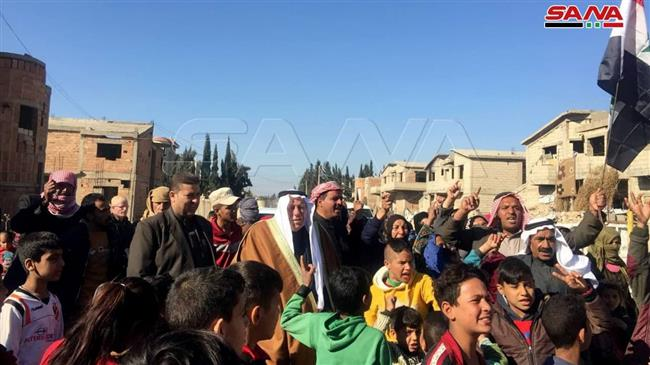 Syrian protesters call for withdrawal of Turkish, SDF forces from Qamishli