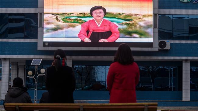 Pyongyang residents watch news as Kim elected general secretary