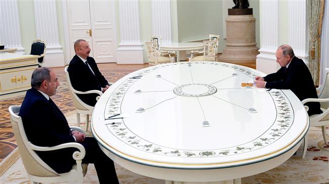 Russia, Armenia and Azerbaijan discuss Nagorno-Karabakh
