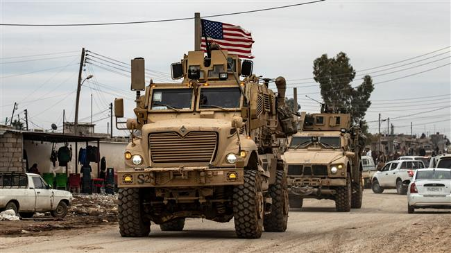 US-led military convoy enters northeastern Syria from Iraq: Report