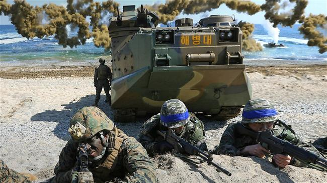 'Planned US-S Korea military drills pose barrier to peace'