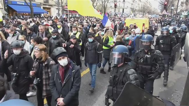 New protest in France against controversial security law