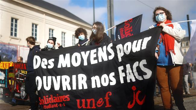 Nationwide strike, demos held in France over job insecurity