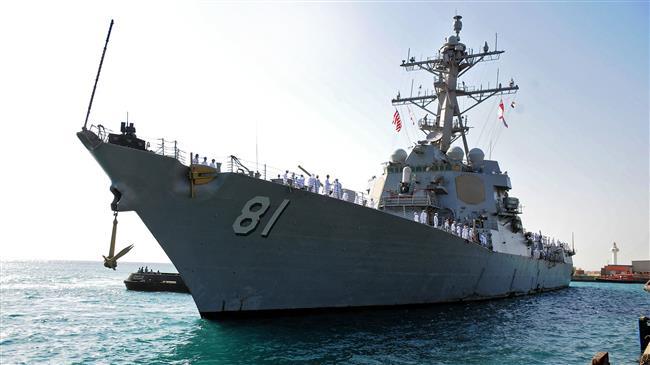 US warship docks in Sudanese eastern port