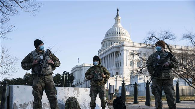 Security tight at US Capitol after police warn of possible militia attack