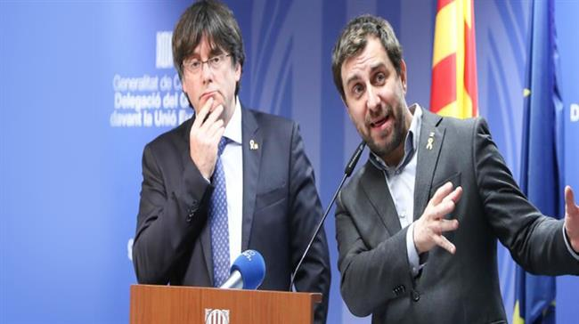EU parliament strips Puigdemont, two Catalan MEPs of immunity