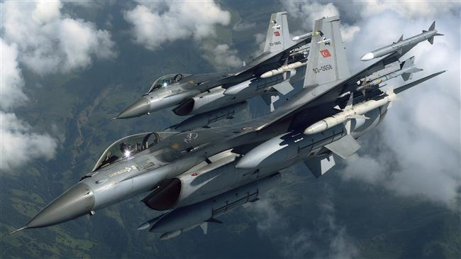 Turkish jet pounds US-backed SDF positions in Syria's Raqqah