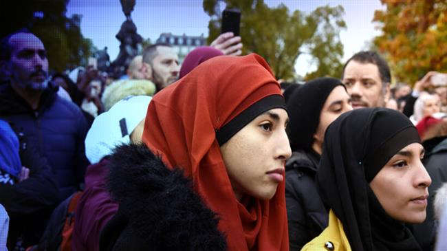 Muslims condemn France over its plan to ban hijab for minors