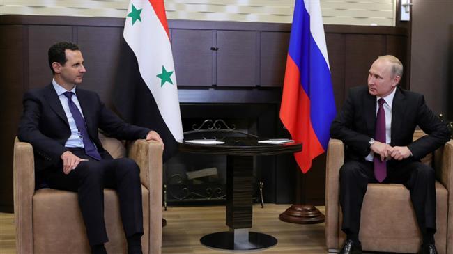 Assad: Syria backs Russia efforts to counter West's escalatory steps
