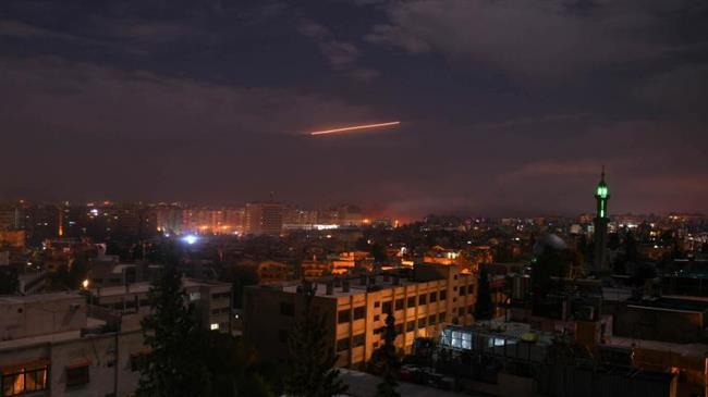 Syrian air defenses intercept Israeli missiles near port city of Latakia