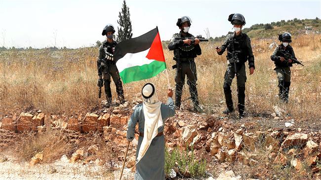Gazaans protest eviction of Palestinians in Sheikh Jarrah