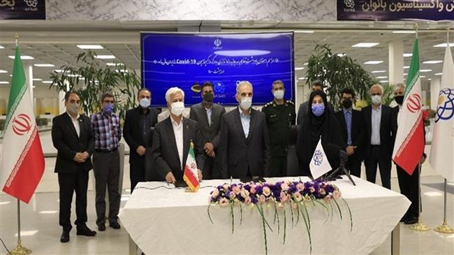 COVID-19 vaccination program launched in Tehran's largest mall