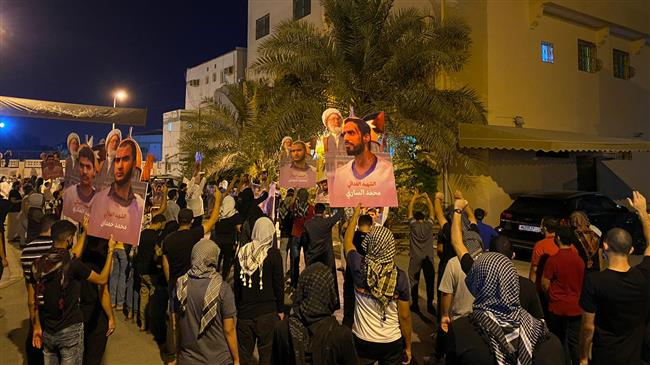 Bahrainis rally in solidarity with prominent cleric Sheikh Qassim