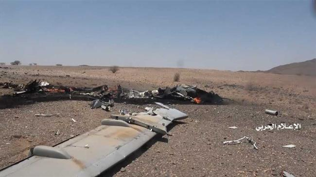 Yemeni army, allies shoot down intruding Saudi spy drone